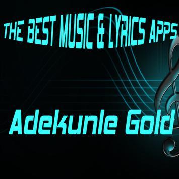 Adekunle Gold Songs Lyrics poster