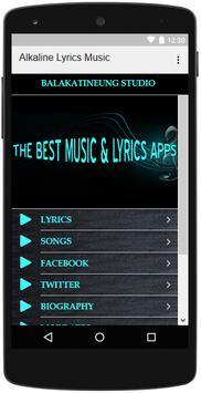 Alkaline Songs Lyrics screenshot 2
