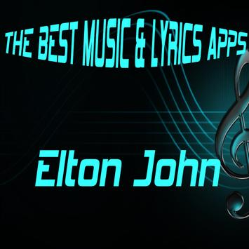 Elton John Songs Lyrics poster