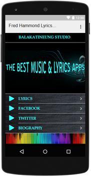 Fred Hammond Lyrics Music screenshot 2