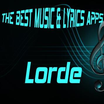 Lorde Songs Lyrics poster