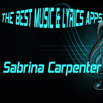 Sabrina Carpenter Lyrics Music poster