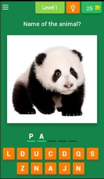 Baby Animal Quiz poster