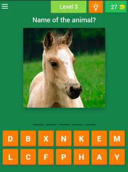 Baby Animal Quiz apk screenshot