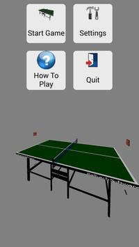 3D Pong poster