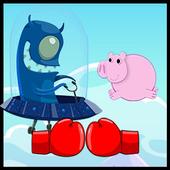 Super Peppa Alien Pig World icon