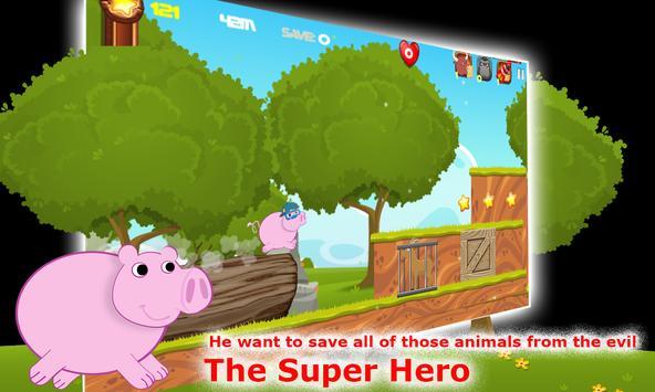 Super Peppa Alien Pig World apk screenshot