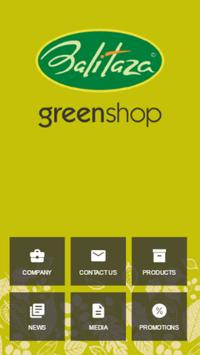 Balitaza greenshop poster