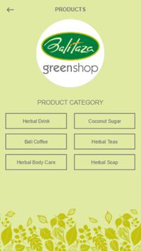 Balitaza greenshop screenshot 2