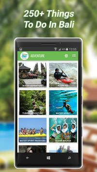 Bali Tour Adventures apk screenshot