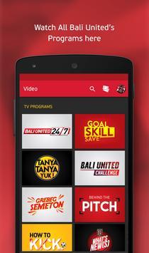 Bali United apk screenshot