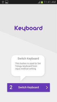 Telugu Keyboard apk screenshot