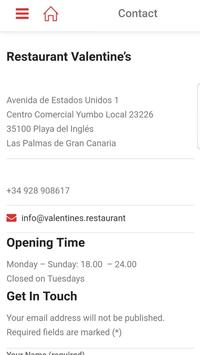 Restaurant Valentine's screenshot 6