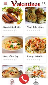Restaurant Valentine's screenshot 1