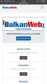 Balkanweb screenshot 1