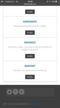 Balkanweb screenshot 2