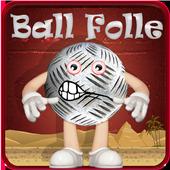 bouncing crazy ball icon