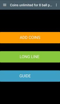 8 Ball Pool unlimited Coins Guide screenshot 1