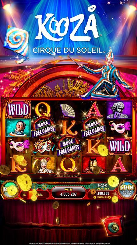 casino slot machines list