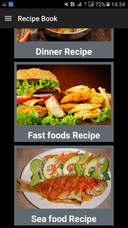 Recipe book for kitchen descarga apk gratis comer y beber recipe book for kitchen captura de pantalla de la apk forumfinder Gallery