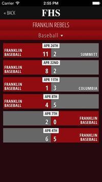 Franklin High School Rebels screenshot 2
