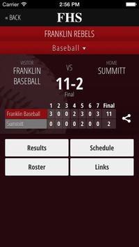 Franklin High School Rebels screenshot 3