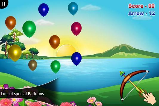 3D Balloon Archery poster