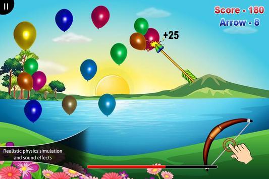 3D Balloon Archery screenshot 2