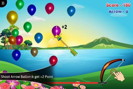 3D Balloon Archery screenshot 3
