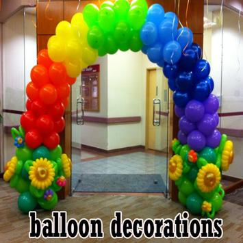 Balloon Decorations poster