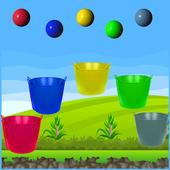 Balloon in Bucket icon