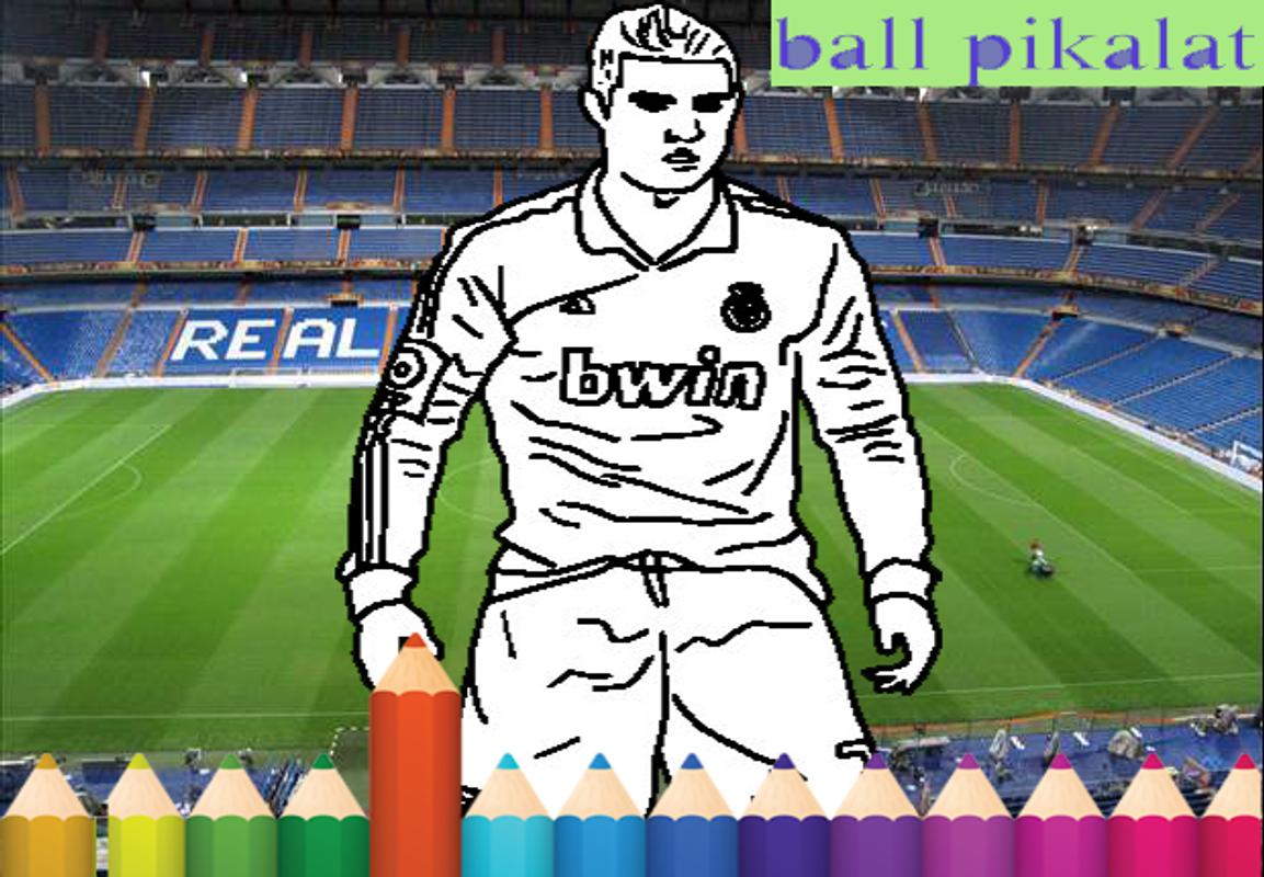 Football coloring kids game screenshot 10