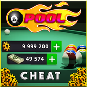 Coin & Cash for 8 ball pool - Game Prank icon