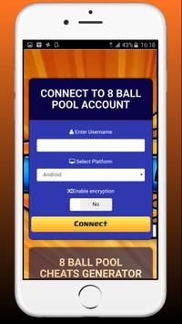 Coin & Cash for 8 ball pool - Game Prank poster