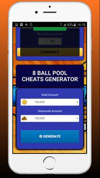 Coin & Cash for 8 ball pool - Game Prank screenshot 2