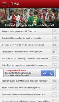 Feyenoord Nieuws - FR12.nl poster