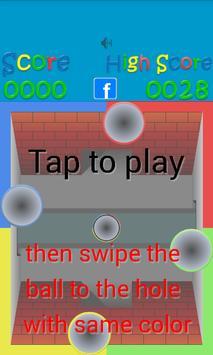 Balls and Holes screenshot 1