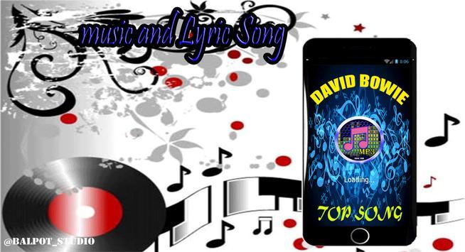 David Bowie Top Song apk screenshot