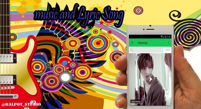 Jaejoong All Song apk screenshot