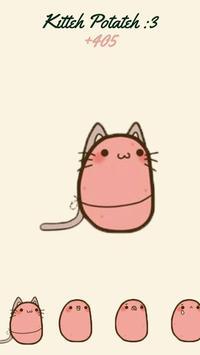 Kawaii Potato Clicker ❤️ apk screenshot
