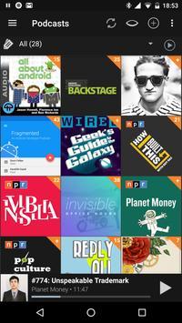 Podcast Addict apk screenshot