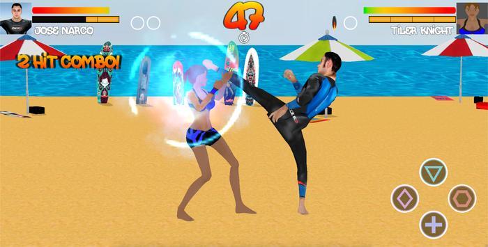 Surfer Fight Beach screenshot 4