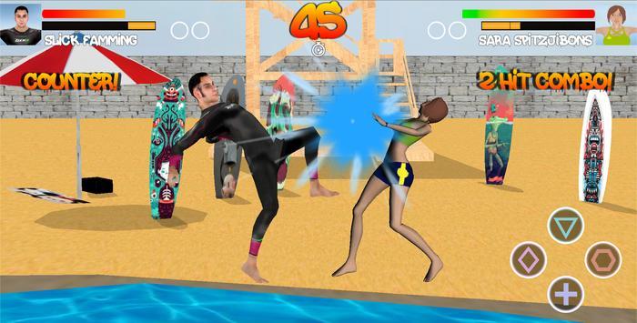 Surfer Fight Beach screenshot 10