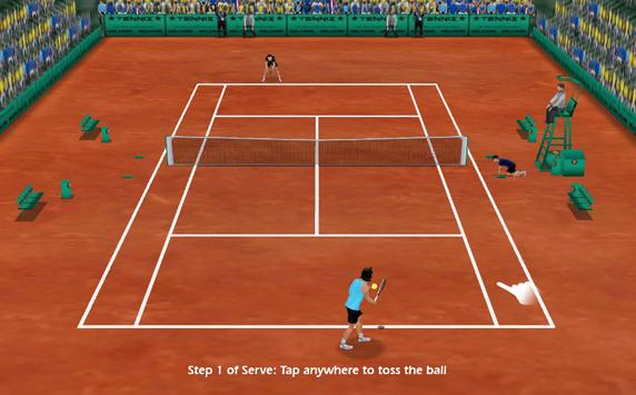 Ultimate 3D Tennis screenshot 2
