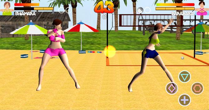 Volleyball Beach Girl Fight screenshot 11
