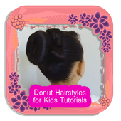 Donut Hairstyles for Kids Guides icon