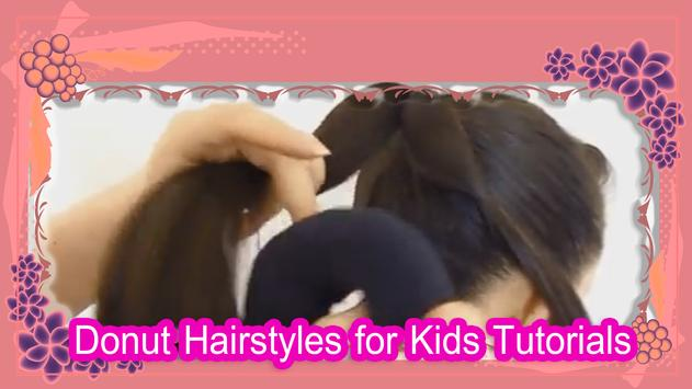 Donut Hairstyles for Kids Guides poster