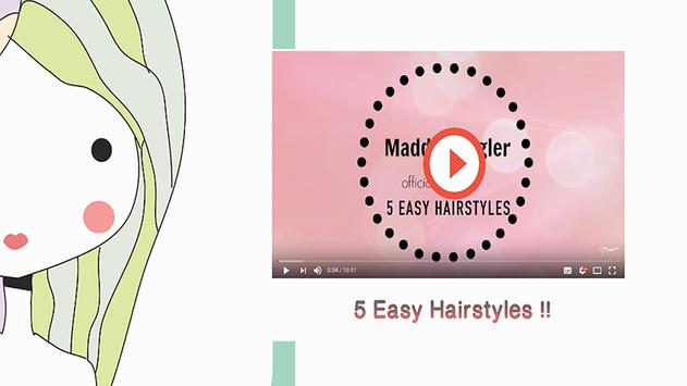 Easy Hairstyle for Kid Guides screenshot 1