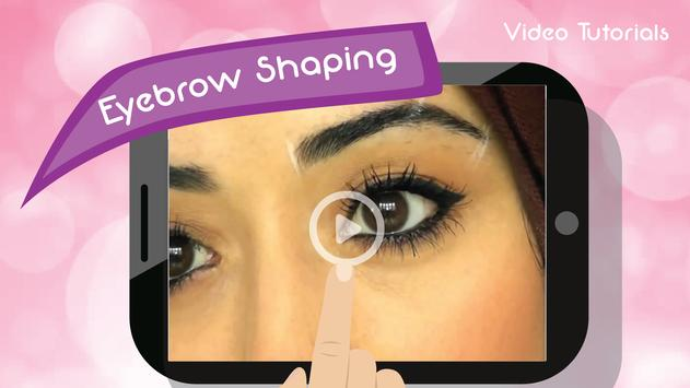 DIY Eyebrow Shaping Guides poster