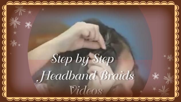 Easy Headband Braid Guides poster